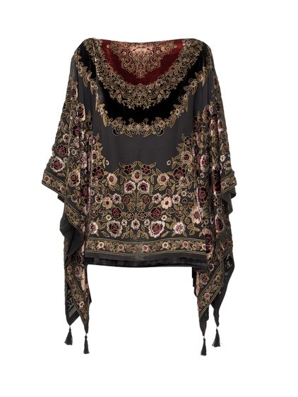 Poncho with Tassels image