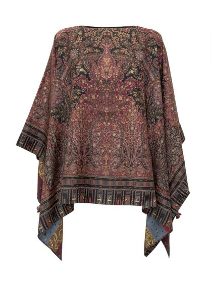 Double-Face Poncho image