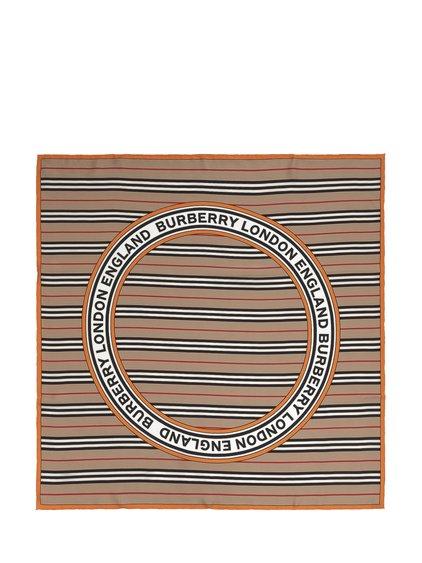 Stripe Circle Scarf image