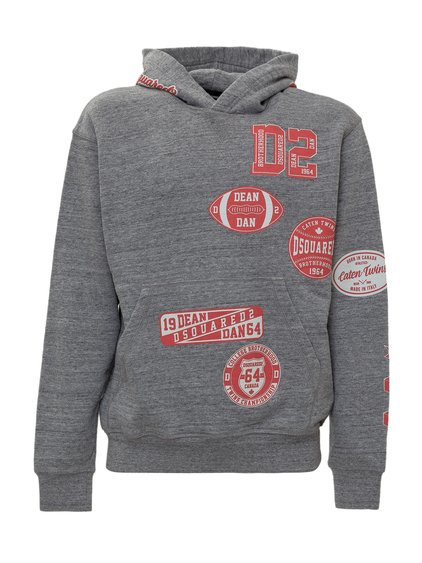 Sweatshirt with Patches image