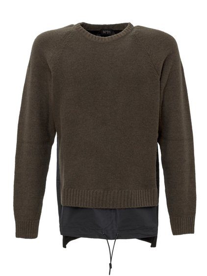 Sweater with Insert image