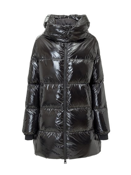 Down Jacket with Hood image