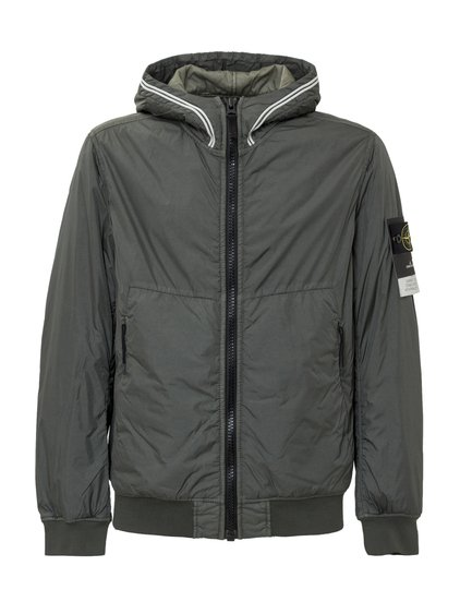 Garment Dyed Crinkle Reps NY Down Jacket image
