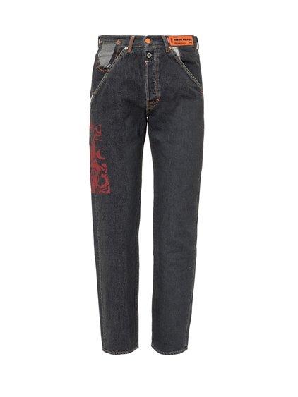 Levi's x Heron Preston Black Wash Jeans image