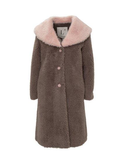 Single-Breasted Fur Coat image