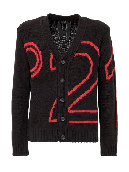Cardigan with Embroidery image