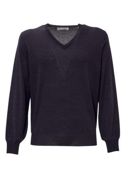 Pullover with V Neck image