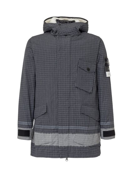 Down Jacket with Print image