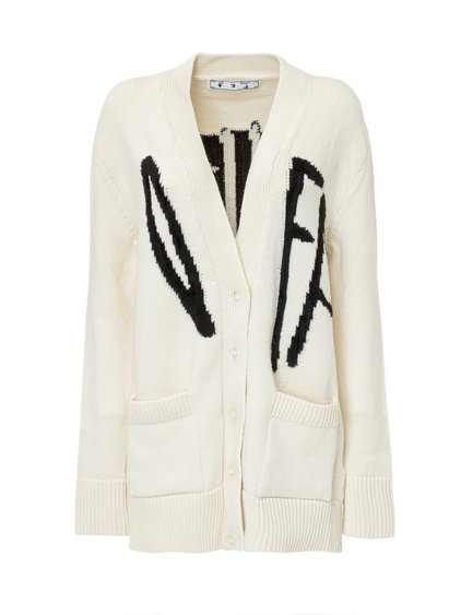 Cardigan with Logo image