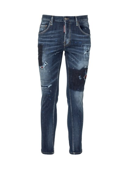 Distessed Effect Jeans image