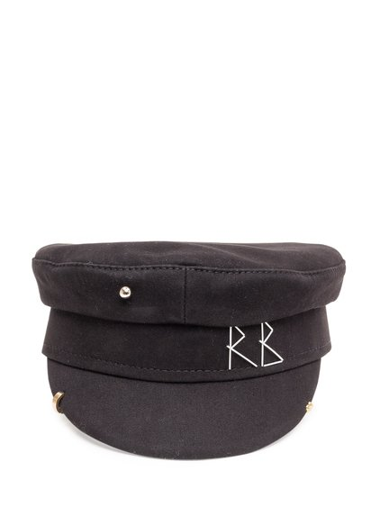 Baker Boy Hat with Stitching image