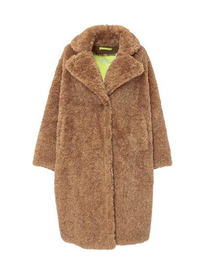 Oversize Faux Fur Coat image
