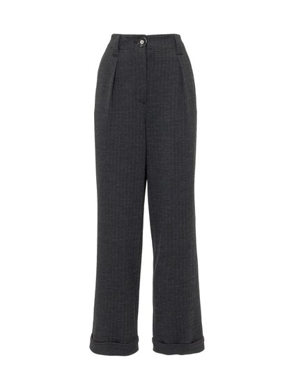 Pinstripe Trousers image