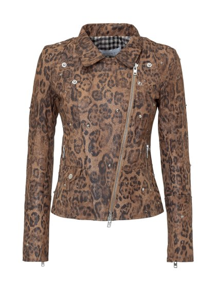 Jacket with Animalier Motif image