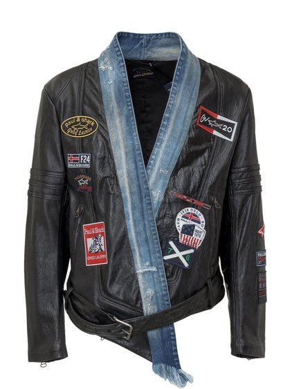 Jacket with Patches image