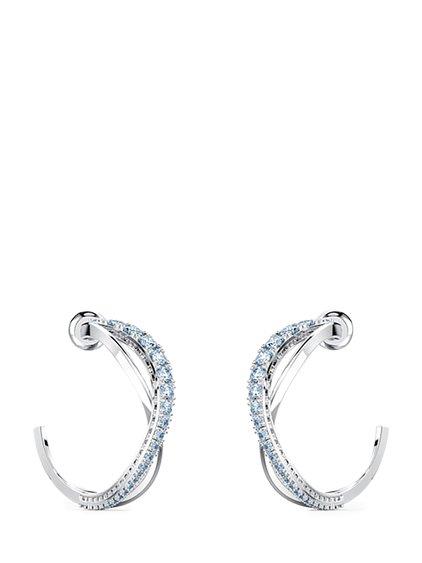 Twist Circle Earrings image