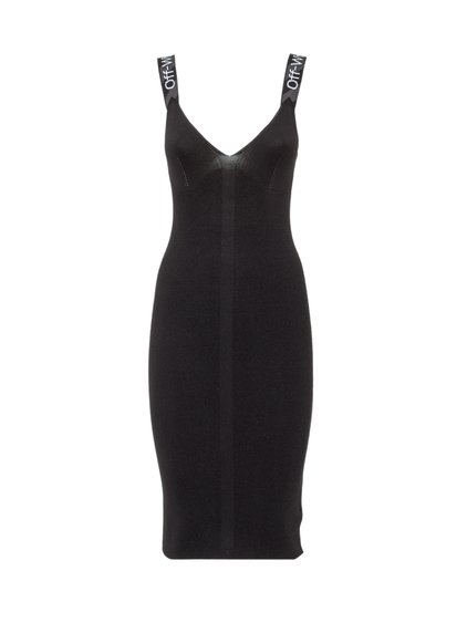 Dress With Logoed Straps. image