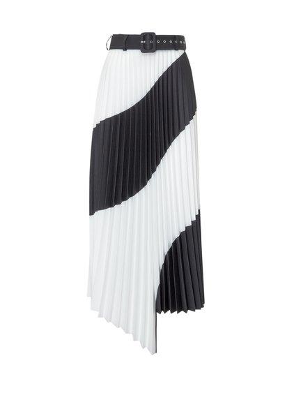 Spiral Plissé Skirt image