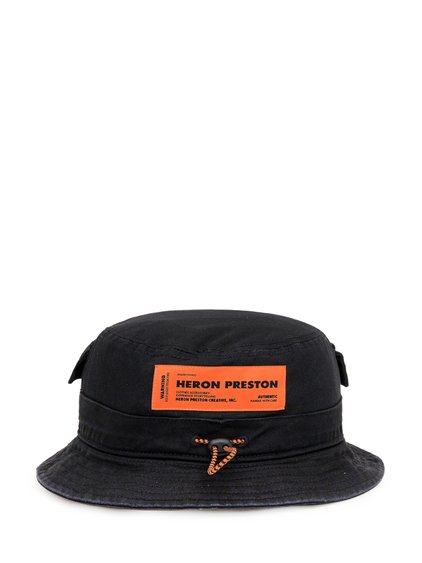 Bucket Hat with Patch Logo image