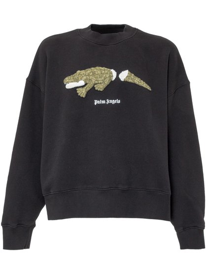 Sweatshirt with Croco Print image