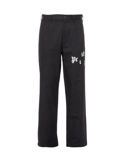 Chino Trousers with Broken Logo image