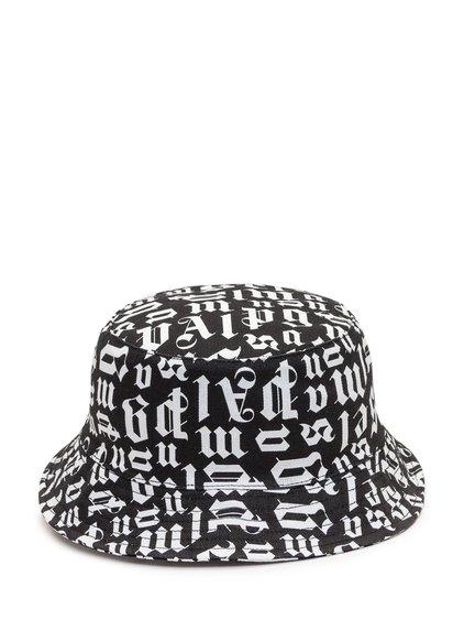Bucket Cap with Broken Monogram image