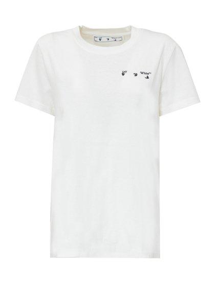 T-Shirt with Arrow Liquid Print image