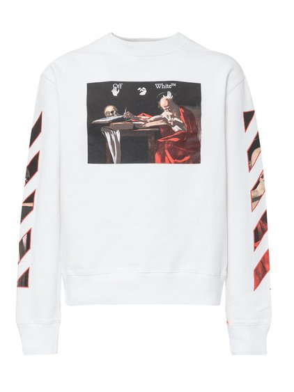 Sweatshirt with Caravaggio Print image