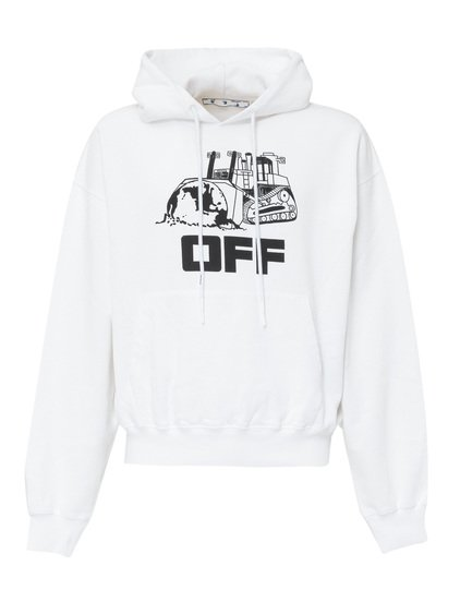 Sweatshirt with Caterpillar Print image