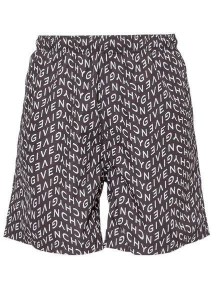 Shorts Con Stampa All-Over image
