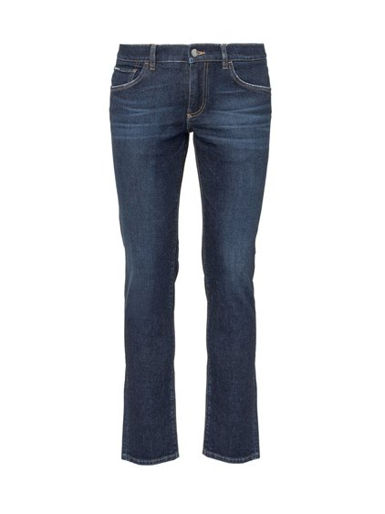 Jeans With Patch Logo image