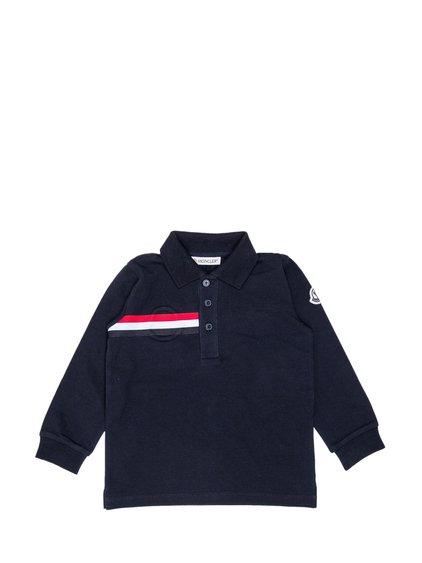 Long-Sleeve Polo Shirt image