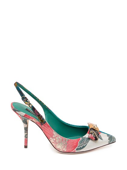 Slingback with Patchwork image