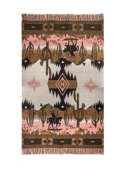 Saguaro Lovers Blanket image