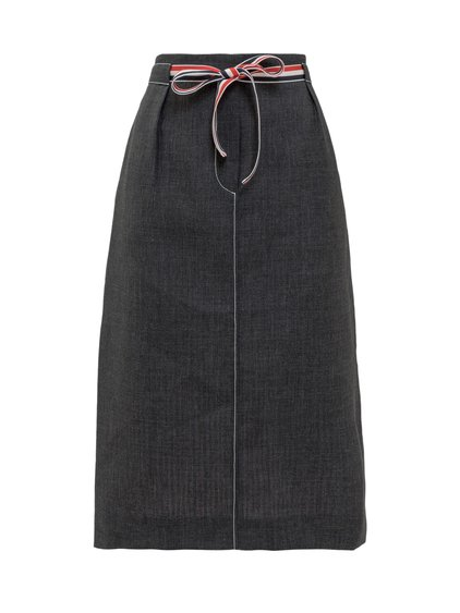 Skirt with Drawstring image