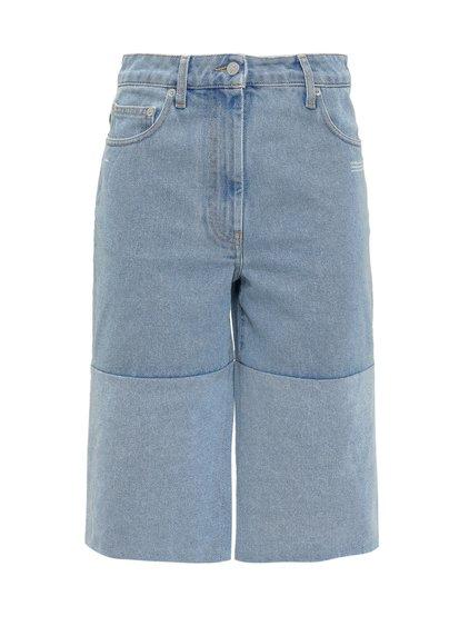 Bermuda Shorts with Slits image
