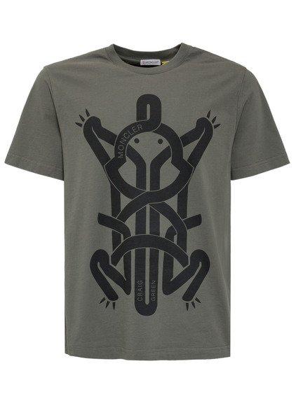 5 Moncler Craig Green Printed T-Shirt image