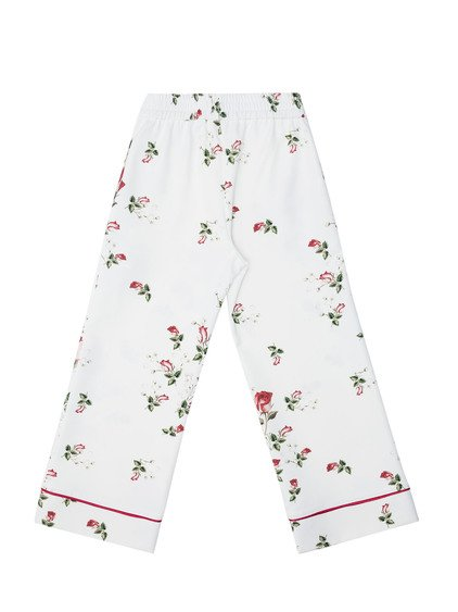 Floral Pattern Trousers image