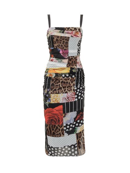 Dress with All-over Print image