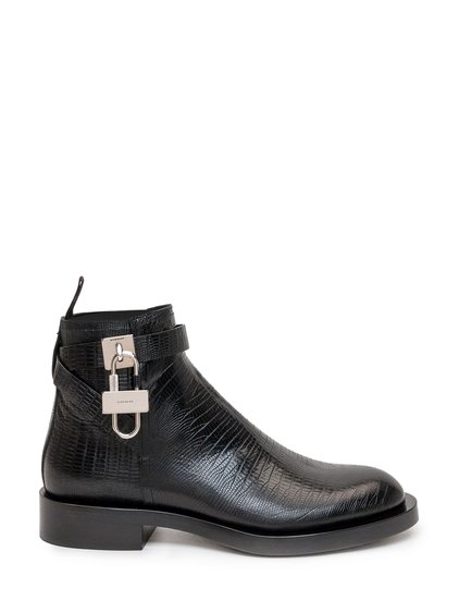 4G Padlock Ankle Boots image