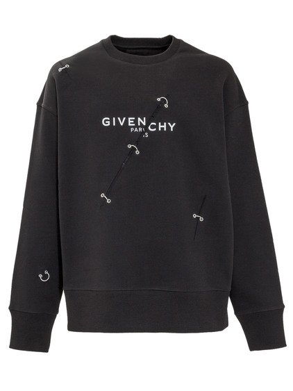 Sweatshirt with Inserts image