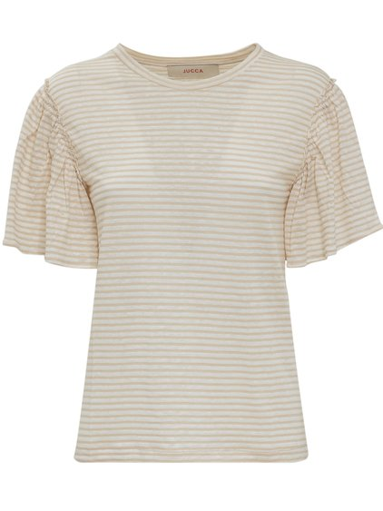 T-shirt with Striped Print image