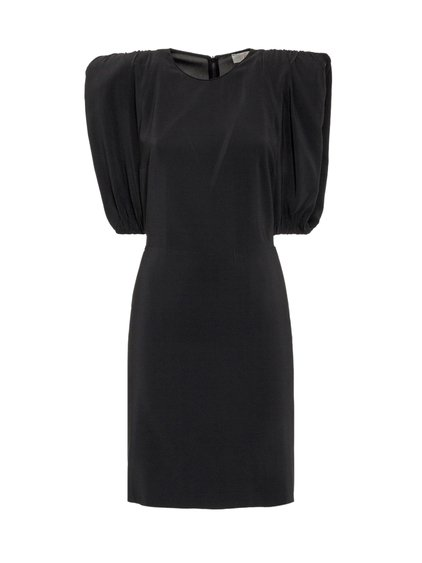 Dress with Padded Shoulders image