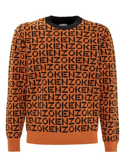 Knitwear with All-over Logo image