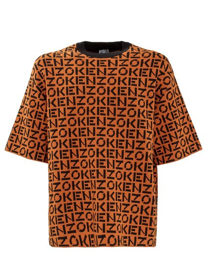 T-shirt with All-over Logo image