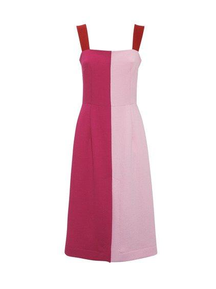 Mix Crepe Dress image