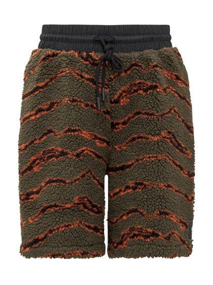 Striped Shorts in Fleece image
