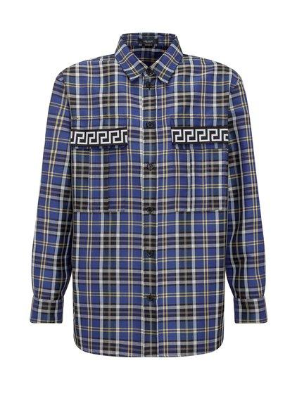 Tartan Wool Blend Shirt image