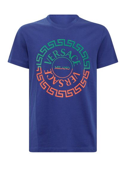 T-Shirt with Colored Logo image