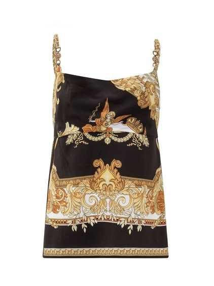 Blouse with Spaghetti Straps image